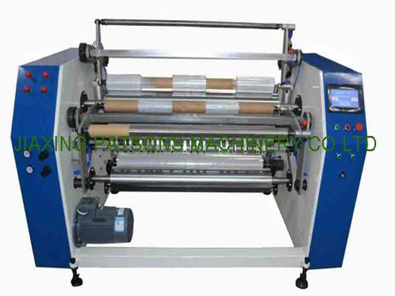 4 Shaft Automatic Changing Stretch Film Slitter Rewinder, PPD-4SH500