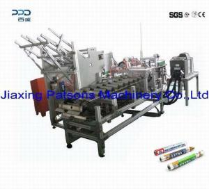 Automatic shrink packaging machine for aluminium foil roll